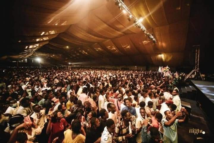 Christ Embassy defies covid-19 protocols, holds a mega event. 7