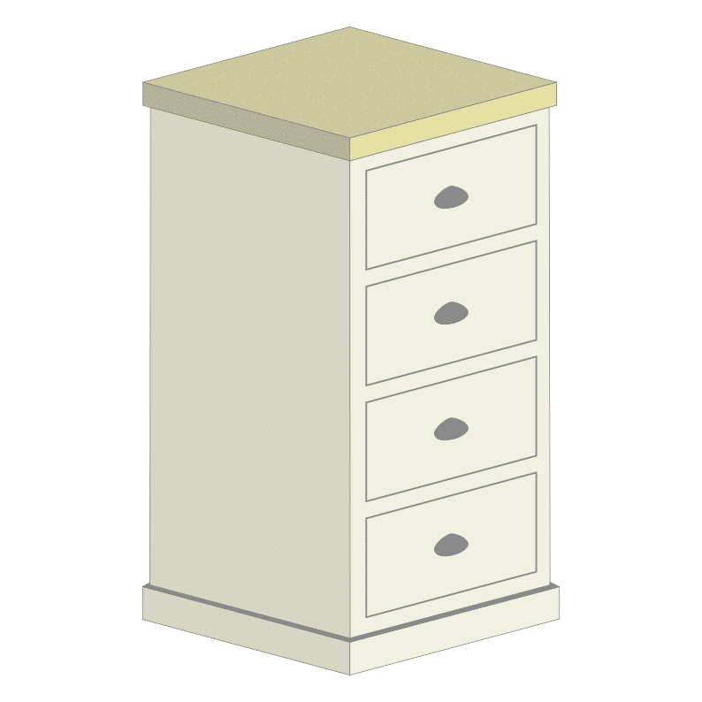 4 Drawer Wellington