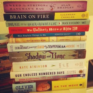 Spring 2015 Readathon Stack