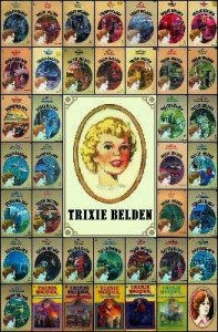 Trixie Belden Covers