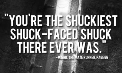Shuckiest Shuck-Face Maze Runner GIF