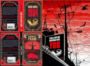 Shephard Fairey Orwell Covers