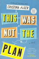 This Was Not the Plan - Christina Alger