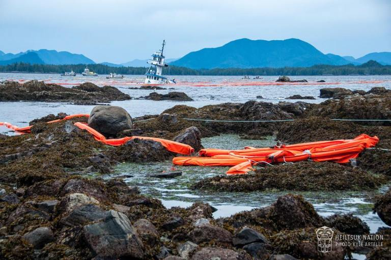 The Nathan E Stewart oil spill in Heiltsuk Territory