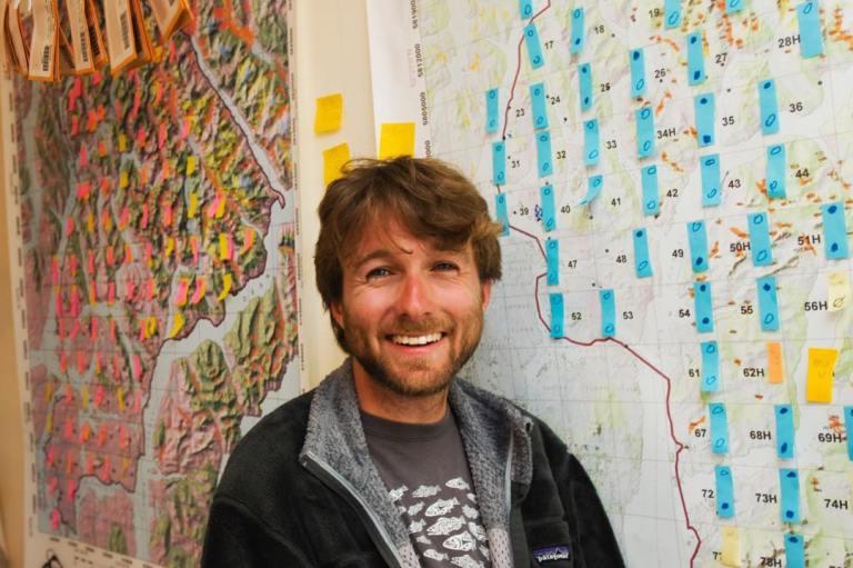 Raincoast Conservations's newest doctor, Dr Kyle Artelle