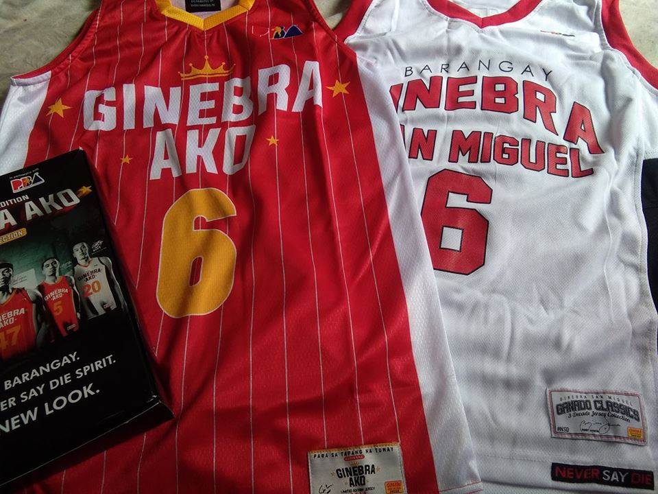551958895 Barangay Ginebra fans may also take home these limited edition jersey  collection soon. To avail