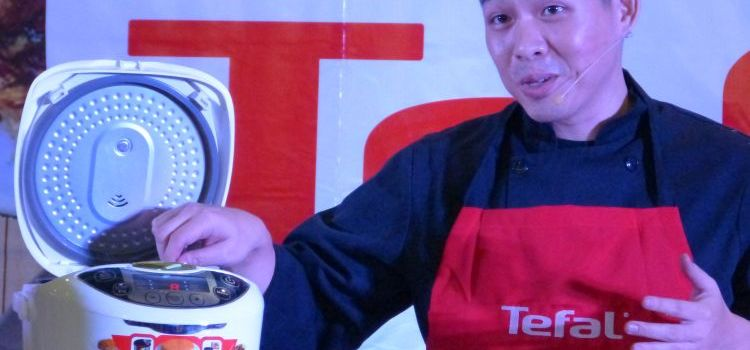 Chef JONAS NG Makes Kitchen Magic with Tefal Aplliances