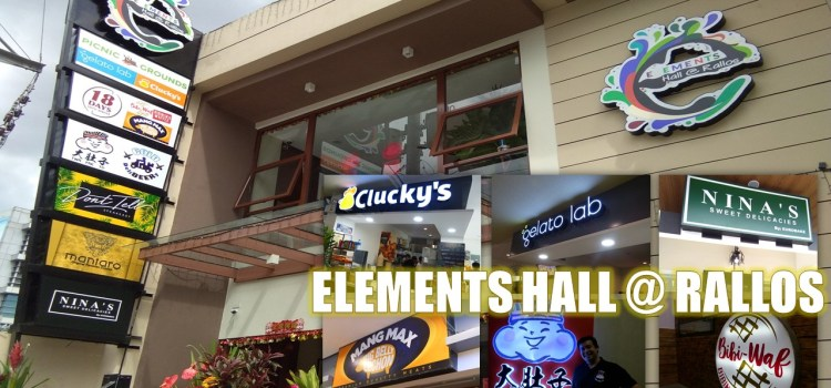 Elements Hall At Rallos | Quezon City's Newest Food Hub is Now Open!