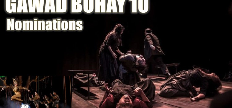 Complete List of Gawad Buhay 2017 Nominees
