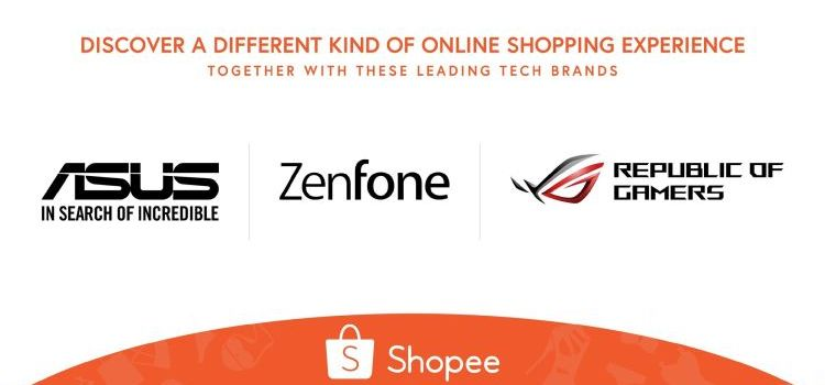 ASUS and ROG Official Stores Now on Shopee