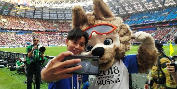 Vivo Launches NEX and V9 Blue at the 2018 FIFA World Cup Russia