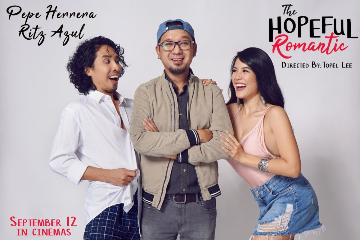 Ritz Azul and Pepe Herrera Stars in The Hopeful Romantic