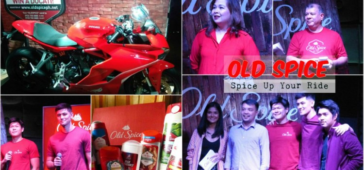Spice up Your Ride with a Brand New Limited Edition Ducati SuperSport from Old Spice