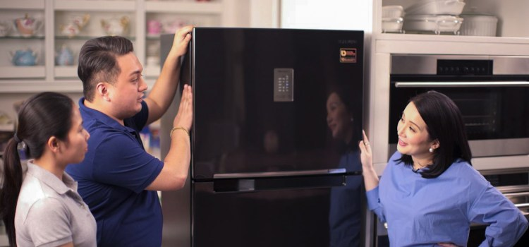 Kris Aquino Uses Samsung Digital Appliances
