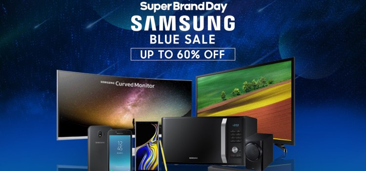 Top 6 Samsung Blue Sale Deals on Shopee #SuperBrandDay