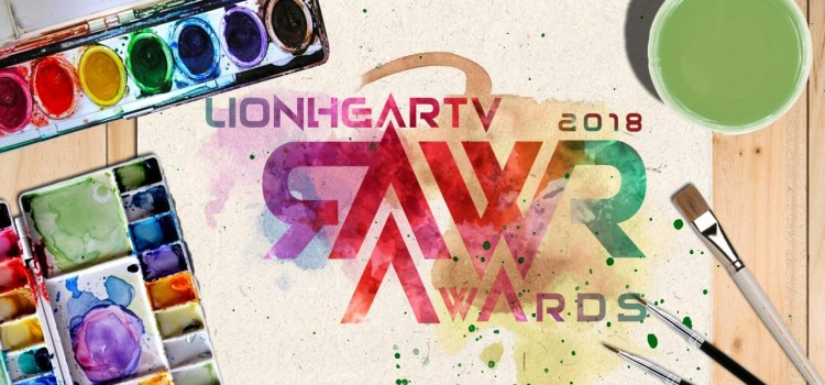 RAWR Awards 2018 List of Nominees