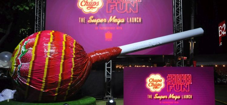Chupa Chups Super Mega Lolly Debuts in Manila