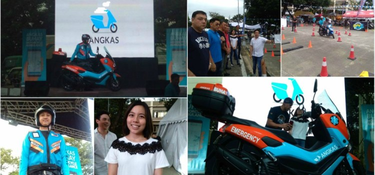 ANGKAS BUHAY Ambucycle and EMT Drivers To Roll Out and Save Lives By Mid-2019