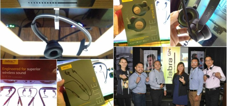 JABRA Launches 4 New Elite Series Earphones and the Engage 50 Pro Digital Headset