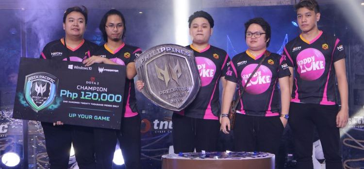 Neon eSports is Predator League DOTA 2 Philippines Grand Champion