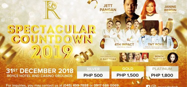 A Spectacular Countdown to 2019 at Royce Hotel