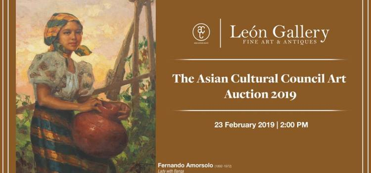Asian Cultural Council (ACC) Partners with Leon Gallery for Benefit Auction