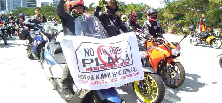 Motorcycle Groups Claim That Double Plate Law is Unconstitutional, Discriminatory, Unsafe and Oppressive