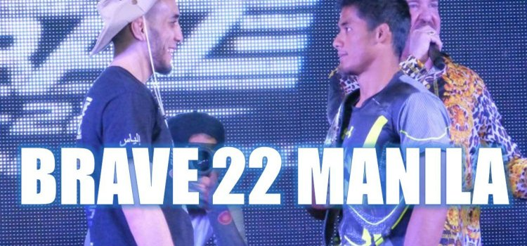 BRAVE 22 – A Mixed Martial Arts Showdown in Manila
