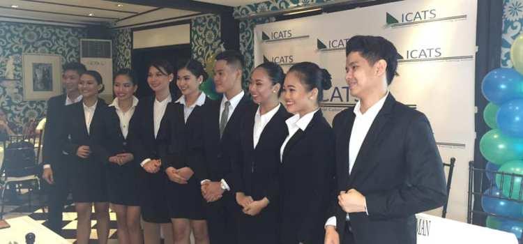 ICATS Flight Attendant School Awards Full Scholarship to 9 Deserving Talents