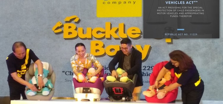 Buckle Up Baby | All About The New Car Seat Law in the Philippines