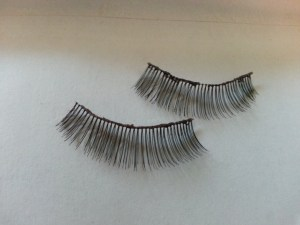 used eyelashes