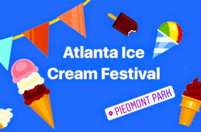 Atlanta Ice Cream Festival 2017 | Raine In The City