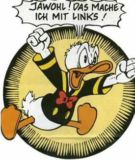 Donald Duck als Symbol der Ausgebeuteten und Entrechteten