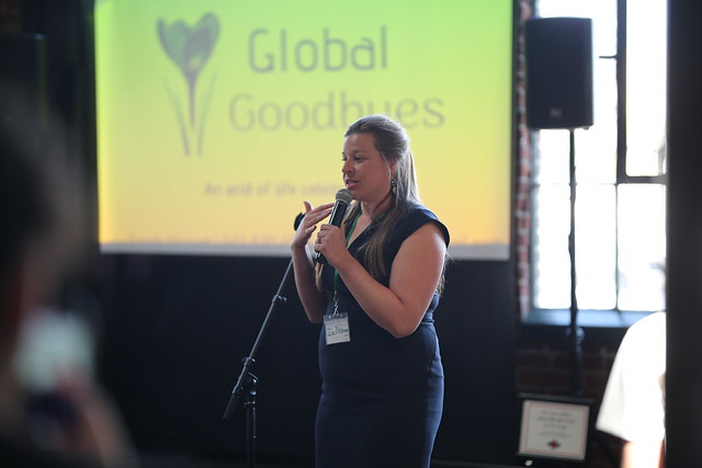 Sarah Vajgert to create Global Goodbyes, a destination ash scattering service to honor the final wishes of your loved ones