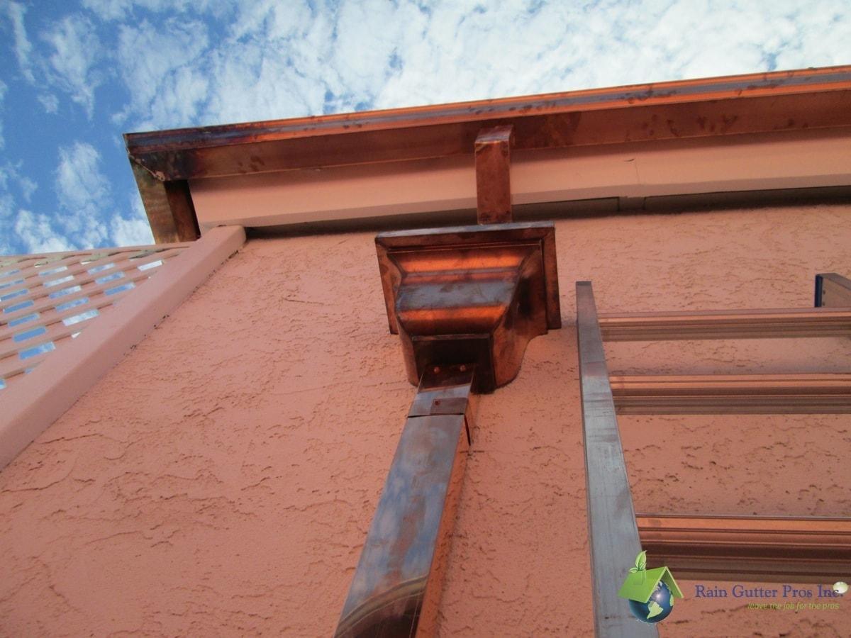 Photo Gallery Copper Rain Gutter Pros Inc