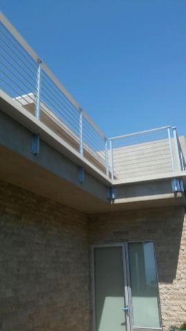 custom box gutter around balcony railing - Rancho Palos Verdes 90274(1)