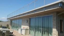 custom box gutter around railing for balcony Rancho Palos Verdes 90274