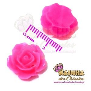Florzinha ABS Rosa Pink