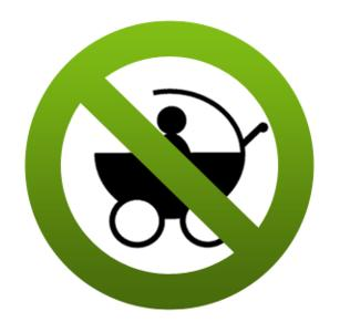 Image result for NO KIDS