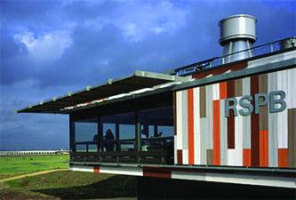 RSPB Rainham Rainwater System
