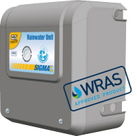 Sigma WRAS Approved rainwater unit