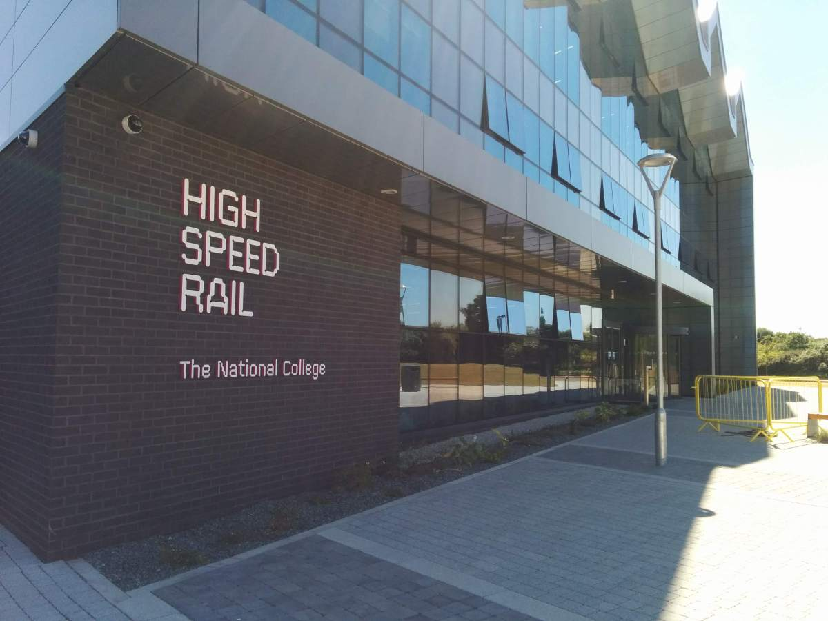 National college for high speed rail in Doncaster
