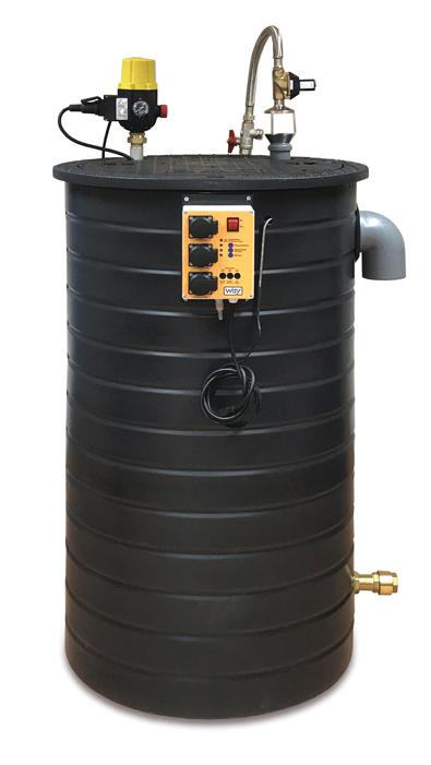 Picture of Maxima rainwater harvesting unit.