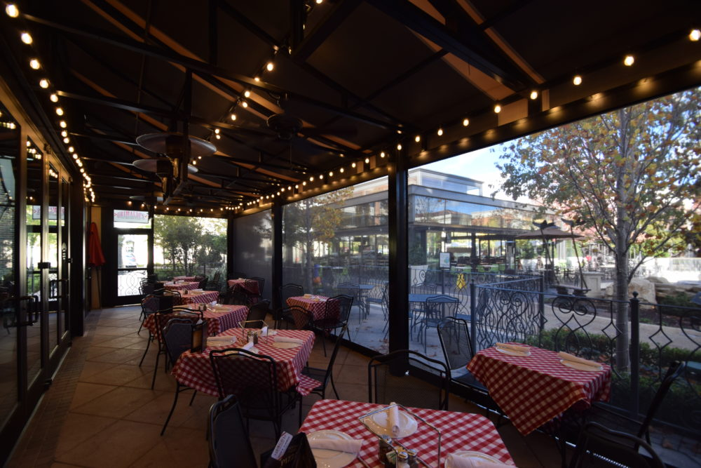 enclosures commercial awnings