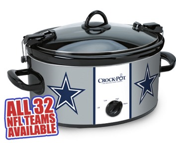 *HOT* FREE NFL Crock Pot Cook & Carry Slow Cooker (reg. $60.00) + FREE Shipping (NO credit card required!)