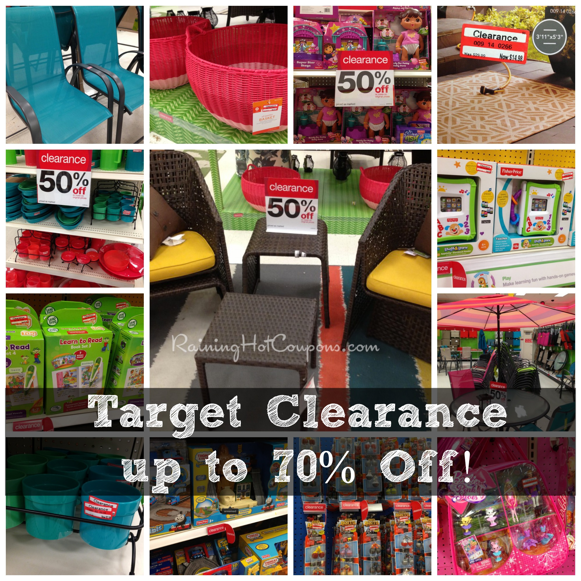 Target Clearance Deals 70 Off Tons Of Items 50 Off
