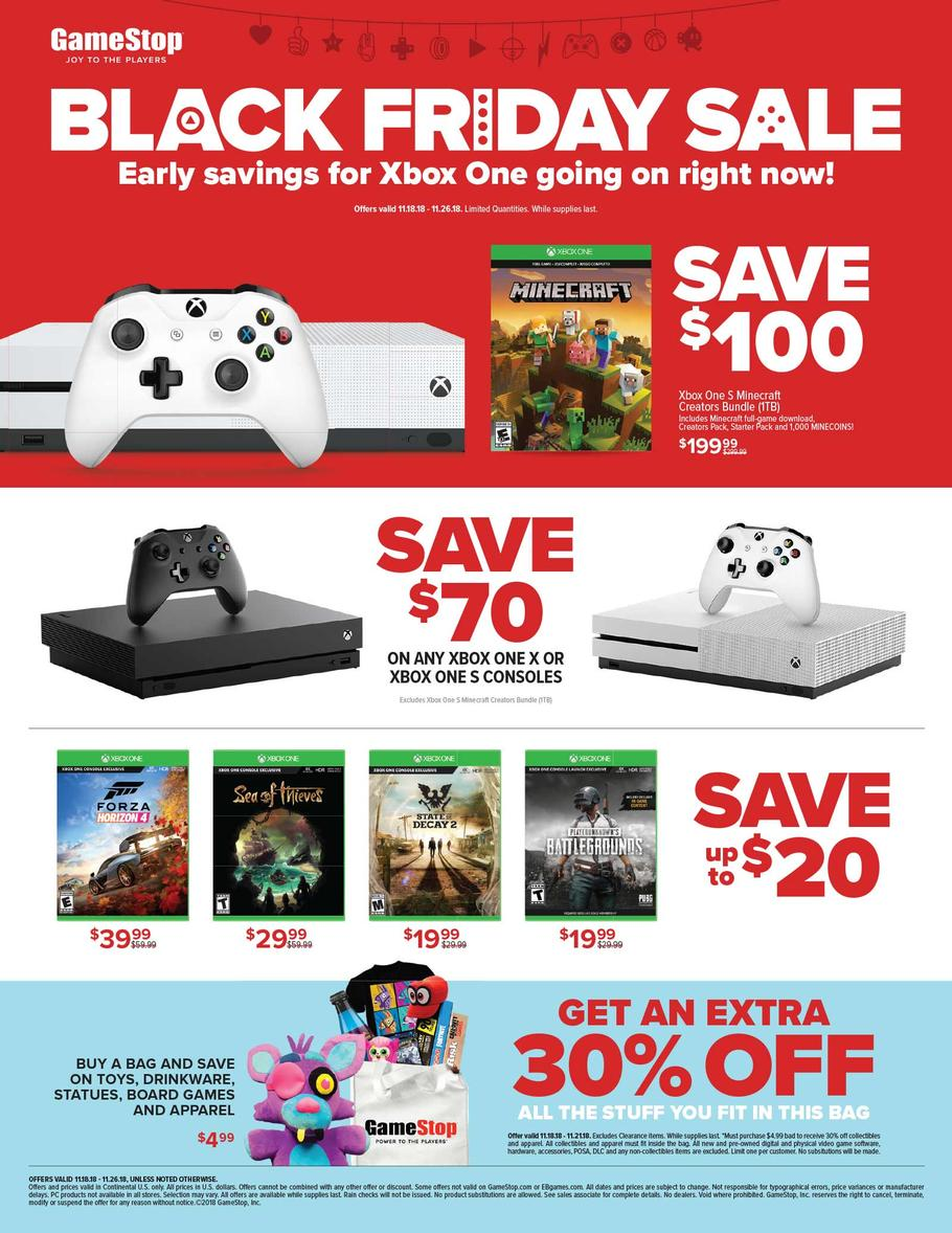 Gamestop Black Friday Ad 2018 Is Available Now