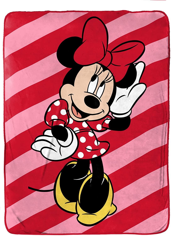 Disney Minnie Mouse Raschel Blanket Only $29.99 (Reg. $60)