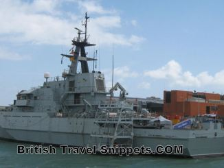 Portsmouth Harbour Tour Military Ship