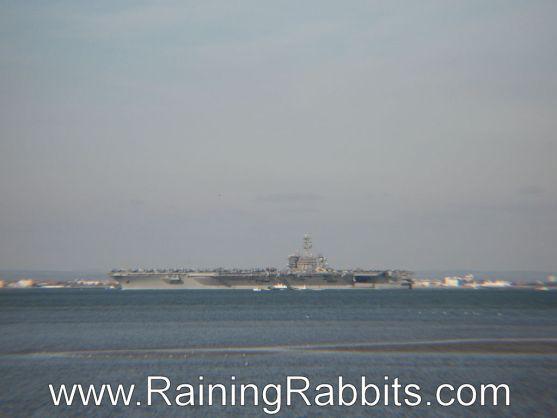 USS Theodore Roosevelt near Gosport